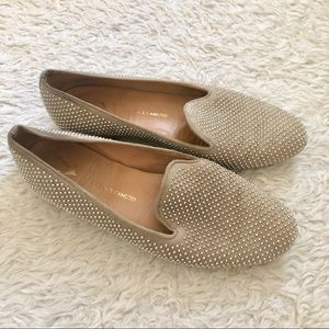 Vince Camuto Studded Taupe Flats